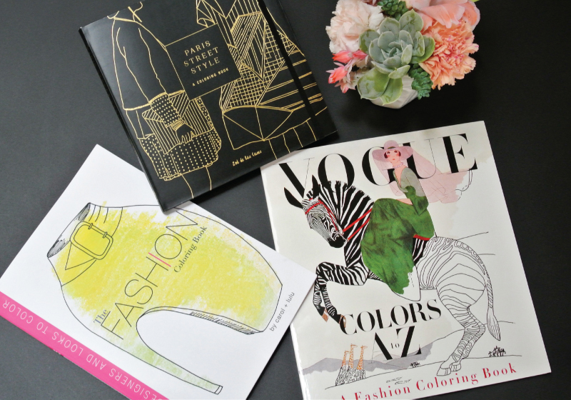 Coloring Therapy The Best Fashion Books For Adults